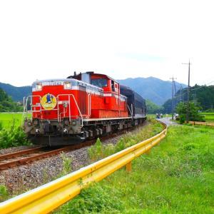 【鉄道写真】DLやまぐち号宇津根踏切通過~♪