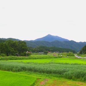 【風景】徳佐駅付近から十種ヶ峰を眺望!