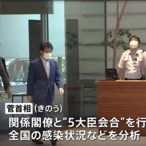 【新型コロナ情報】9月8日新たな感染者 国内計12,396人 東京都1834人 大坂2012