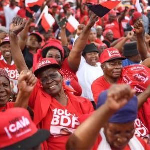 ボツワナ総選挙