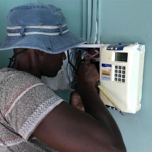 ボツワナでの電気の使い方