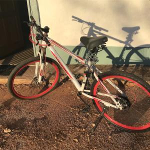 自転車をゲット