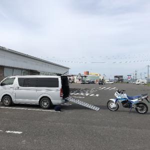 2019北海道トランポ林道ツーリング