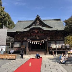 秩父神社と蕎麦