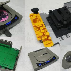 セガサターン2/5 色分け済みプラモデルをレビュー!