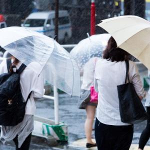 なんか毎年雨降る時期あるよな