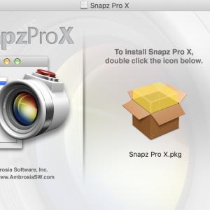 macOS Catalina バージョン10.15.4では、Snapz Pro Xは動かない!