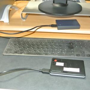 データ復旧をお願いしたポータブルハードディスク、もらってきました!