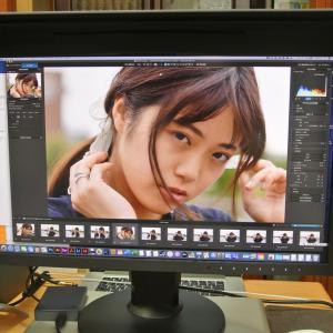 香月ちささんのデータ現像、進む! ─ 環水公園 2020.7.22 富山県撮影会 ─