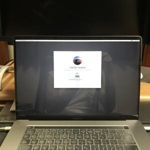 16インチMacBook Proが起動しない!