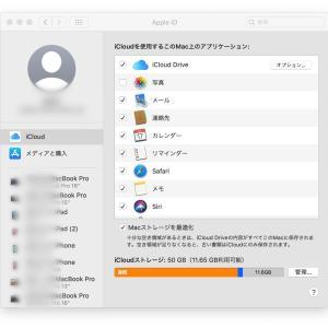 iCloudキーチェーンの問題!