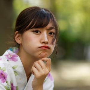 浴衣 のんさん!その21 ─ 2019.9.28 大阪 中津公園 ─