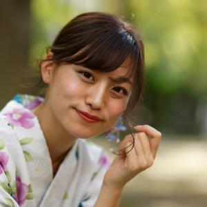 浴衣 のんさん!その22 ─ 2019.9.28 大阪 中津公園 ─