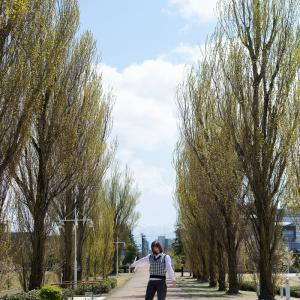 富山美少女図鑑 撮影会! ─ 環水公園 2021年4月10日 NARUHAさん その16 ─
