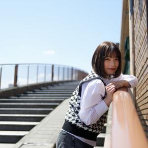 石川・富山美少女図鑑 撮影会! ─ 環水公園 2021年4月10日 NARUHAさん その43 ─