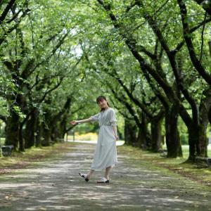 柚奈あやかさん その4 ─ 北陸モデルコレクション 2021.7.3 富山県中央植物園 ─