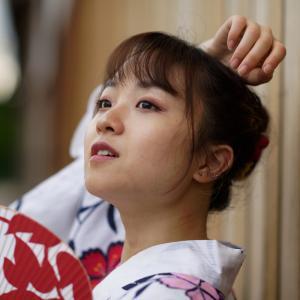 浴衣可愛い あやかさん その16 ─ 北陸モデルコレクション 2021.7.11 富山市岩瀬エリア ─