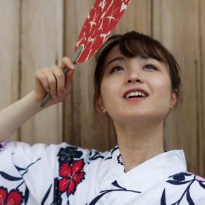 浴衣可愛い あやかさん その17 ─ 北陸モデルコレクション 2021.7.11 富山市岩瀬エリア ─