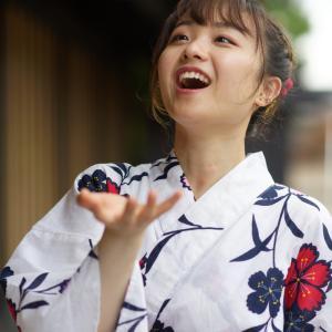 浴衣可愛い あやかさん その24 ─ 北陸モデルコレクション 2021.7.11 富山市岩瀬エリア ─