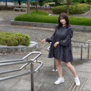 カメラ女子 なるはさん その1 ─ 北陸モデルコレクション 2021.9.12 北代緑地 ─