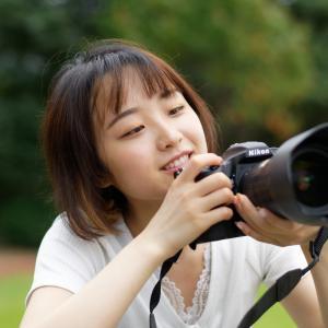 カメラ女子 あやかさん その2 ─ 北陸モデルコレクション 2021.9.12 北代緑地 ─