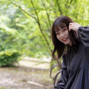 カメラ女子 なるはさん その5 ─ 北陸モデルコレクション 2021.9.12 北代緑地 ─