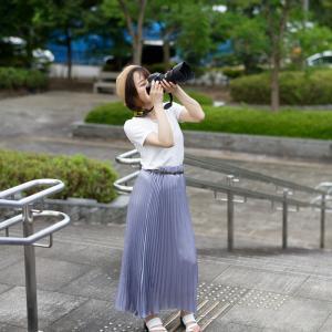 カメラ女子 あやかさん その6 ─ 北陸モデルコレクション 2021.9.12 北代緑地 ─