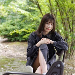カメラ女子 なるはさん その6 ─ 北陸モデルコレクション 2021.9.12 北代緑地 ─