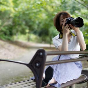 カメラ女子 あやかさん その8 ─ 北陸モデルコレクション 2021.9.12 北代緑地 ─