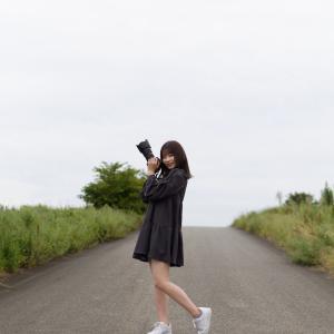 カメラ女子 なるはさん その11 ─ 北陸モデルコレクション 2021.9.12 北代緑地 ─