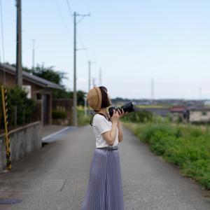 カメラ女子 あやかさん その10 ─ 北陸モデルコレクション 2021.9.12 北代緑地 ─