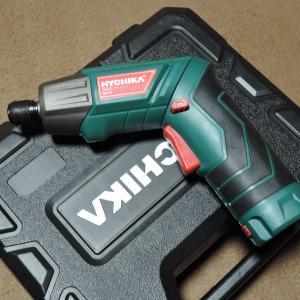 HYCHIKA(ハイチカ) 充電式電動ドライバードリル  購入しました♪