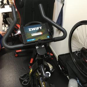 スピンバイク&Zwiftは実用的か?①