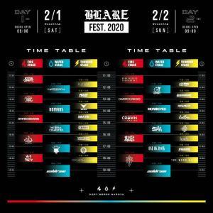 「BLARE FEST. 2020」coldrainフェス