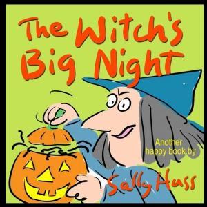 【ハロウィンの絵本④】『The Witch's Big Night』の紹介【英語で読む絵本】