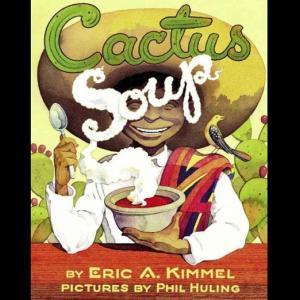 サボテンスープの作り方と交渉術を学べる絵本【英語で読む絵本】