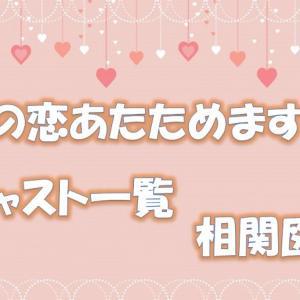 「恋あた」森七菜に注目!キャスト画像と一覧や相関図をご紹介