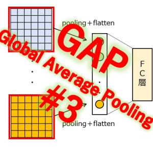 全体平均プーリング(3/5)特許性の検討
