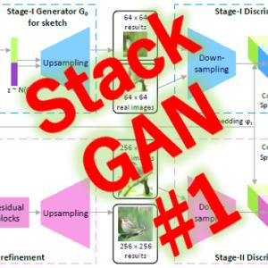 StackGAN(1/4)発明の概要