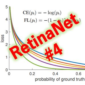 RetinaNet(4/4)総括