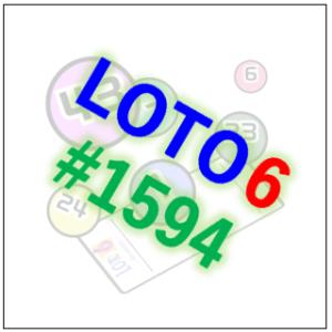 ロト6・第1607回 AI予想(2021/7/29 抽選)