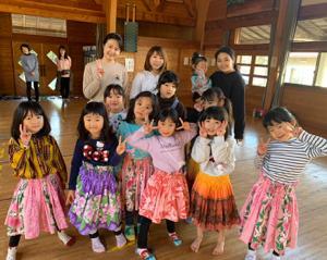 新城市東栄のフラダンス教室 タヒチアンダンス教室