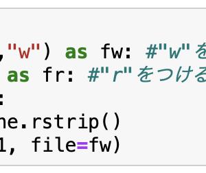 Python 学習記録No.19