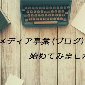 メディア事業(ブログ)を始めて1カ月-経過報告