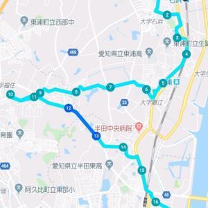 知多四国しあわせ遍路の旅 第11-2回   石浜〜亀崎 2019年10月13日