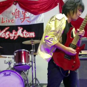 どもども~!はじめましてVas of AtumのギターのMASAです。
