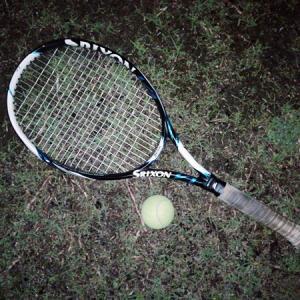 テニスでスーパードロップショット