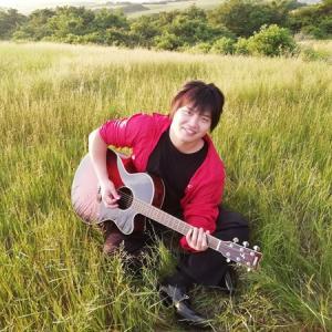 阿蘇山×アコースティックギター