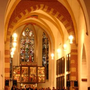 ドイツ木工研修留学 35:教会の椅子に座って・・・