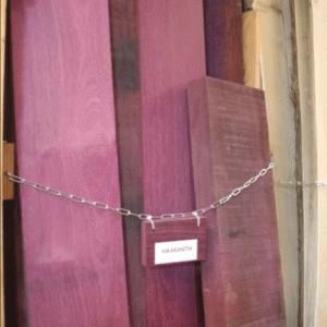 ドイツ木工研修留学 41:ハンブルクの材木屋